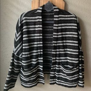 Madewell | Striped Upbeat Cardigan Sweater